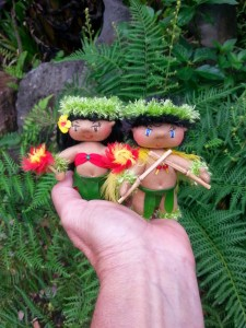 "Uli'uli and Pu'ili are about 3.5"" tall"