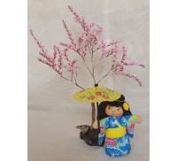 Japanese Kimono Doll, Kiyoko (Pure Child)