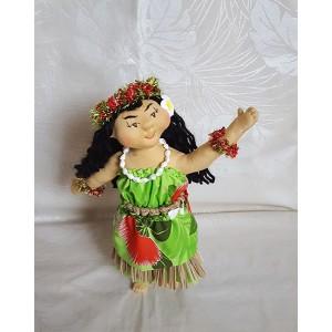 Hawaiian Art Doll *Malia, the Hula  Dancer*