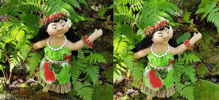 <h2>Hawaiian Art Doll *Malia, the Hula  Dancer*</h2>