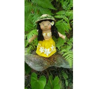 Huggable Hawaiian Art Doll, Hulili (First Light)