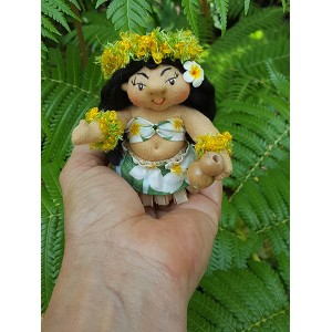 Aupana, the Hula Dancer