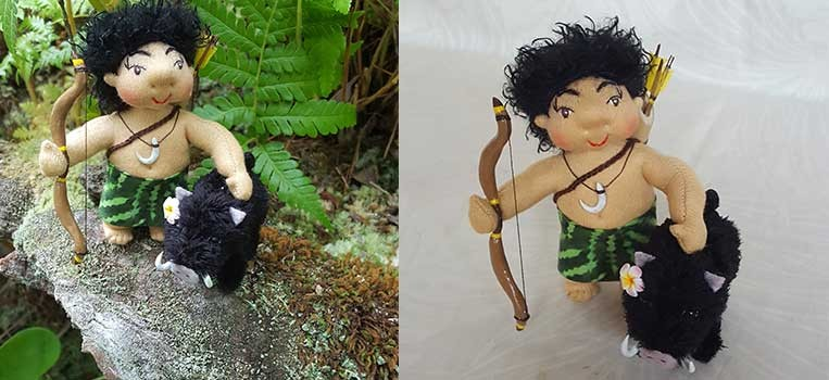 <h2>Kanaka, Hunter of Aloha and Pua'a, the Pig</h2>