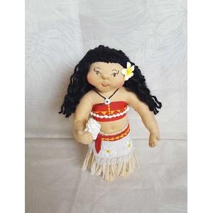 Moana Inspired Princess Art Doll