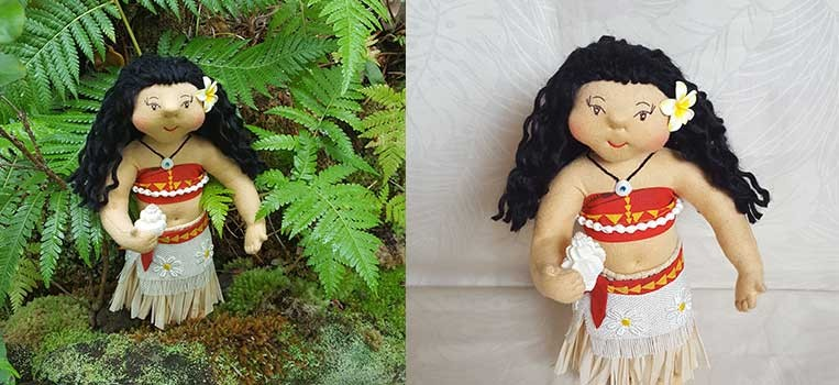 <h2>Moana Inspired Princess Art Doll </h2>