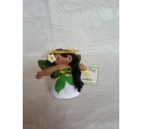 Aloha Doll Ornaments, Leilani (Heavenly Flower)