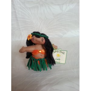 Aloha Doll Ornaments, Lulu (Peace)