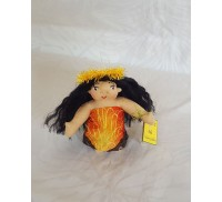 Aloha Doll Ornaments, Pele