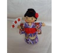 Japanese Kimono Doll 'Sach'i