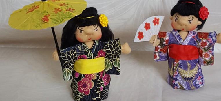 <h2>Japanese Kimono Doll</h2>