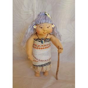 Huggable Hawaiian Art Doll *Tala, the Storyteller*